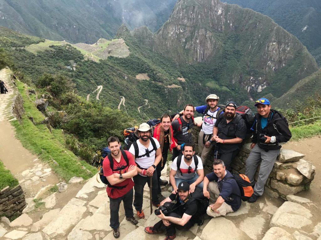 Jose at Machu Picchu